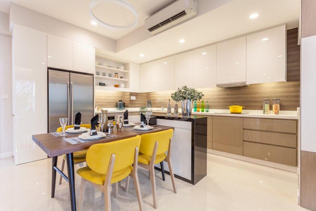 Vì sao nên chọn tủ bếp Acrylic?