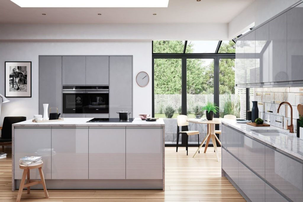 Các loại tủ bếp công nghiệp thường dùng trong thiết kế nhà