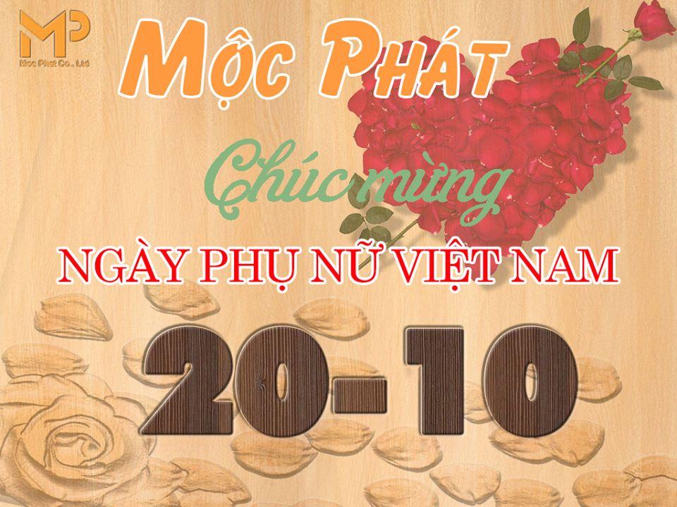 Mộc Phát mừng ngày Phụ nữ Việt Nam 20.10