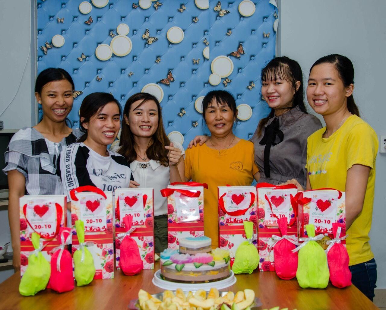 Mộc Phát mừng ngày Phụ nữ Việt Nam 20.10 1