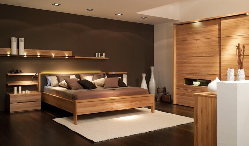 Xu hướng nội thất phòng ngủ hiện đại từ gỗ công nghiệp