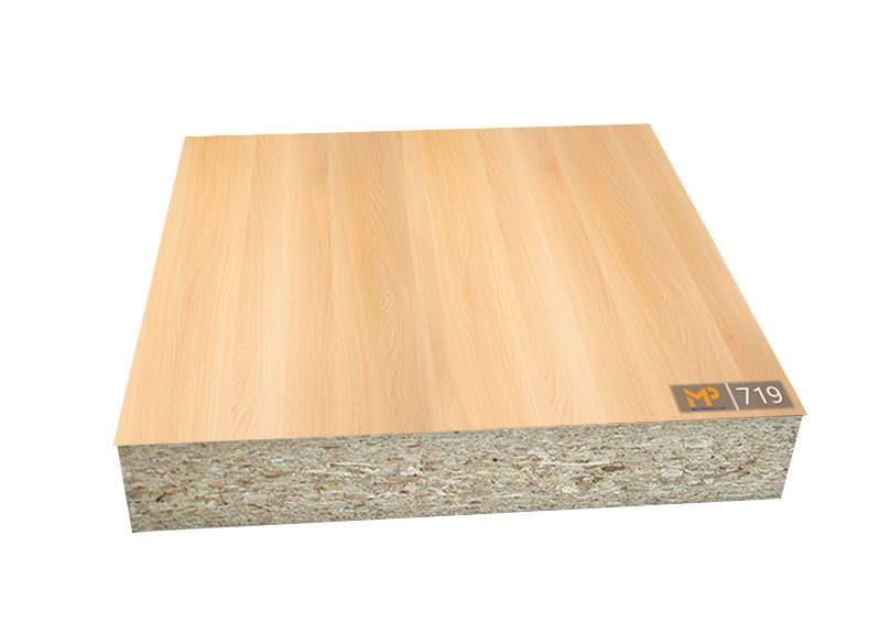 MFC vân gỗ Sồi đỏ cho không gian ấm cúng