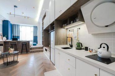 Nội thất gỗ công nghiệp giải pháp hoàn hảo cho căn hộ 35m2