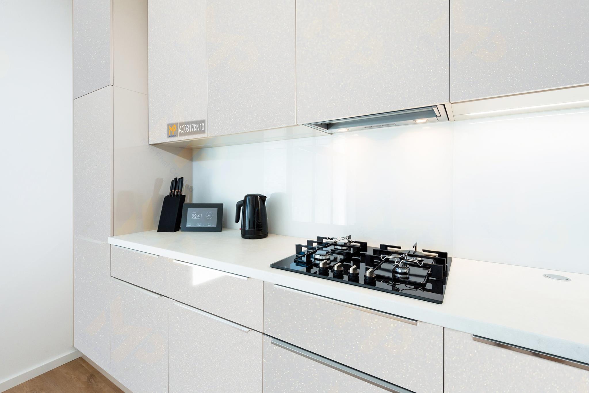 Sáng tạo không gian nội thất ấn tượng từ Acrylic kim tuyến