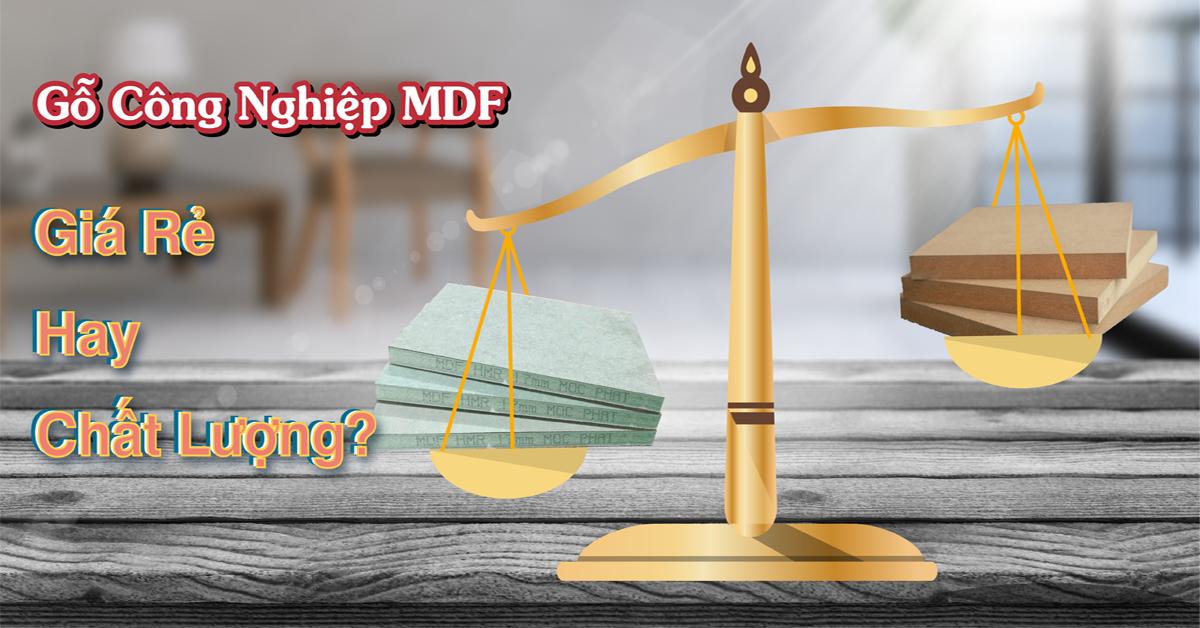 Thị trường gỗ công nghiệp MDF: Chọn giá rẻ hay chất lượng