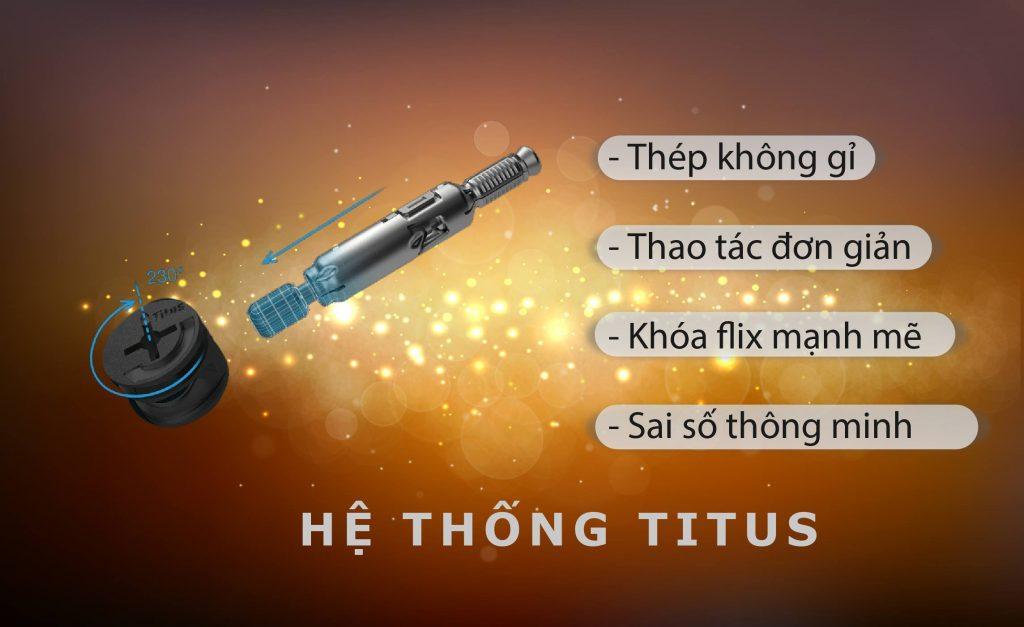 Những ưu điểm vượt trội của phụ kiện nội thất Titus