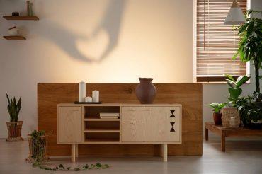 Ứng dụng hoa văn vân gỗ trong nội thất