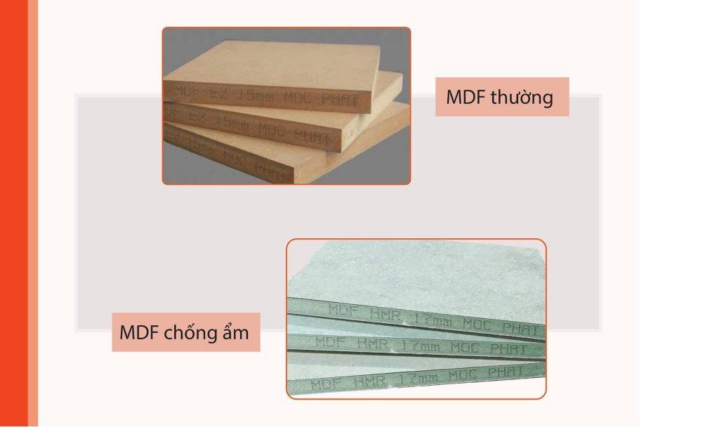 Ván MDF ứng dụng trong sản xuất nội thất