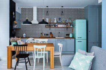 Sáng tạo không gian nội thất với gỗ công nghiệp xanh pastel