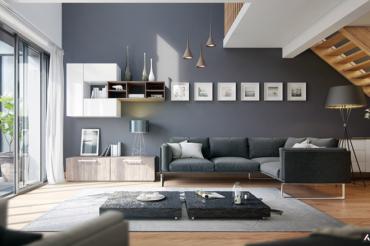 Tham khảo phong cách trang trí phòng khách đón Tết