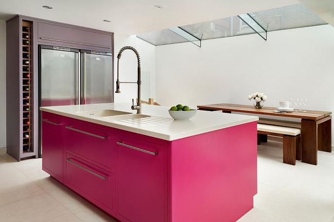 gỗ công nghiệp màu hồng