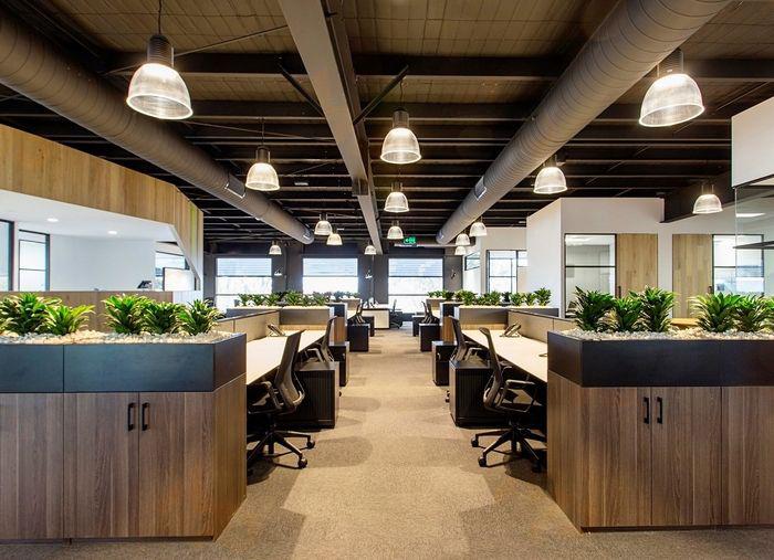 Ứng dụng MDF trong nội thất văn phòng