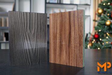 Acrylic vân gỗ: Dung hòa giữa nét cổ điển và hiện đại