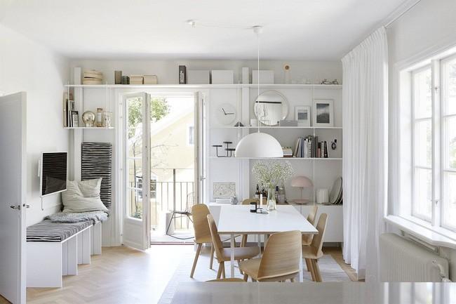 MFC trắng: Mang vẻ đẹp bình dị cho tổ ấm nhà bạn