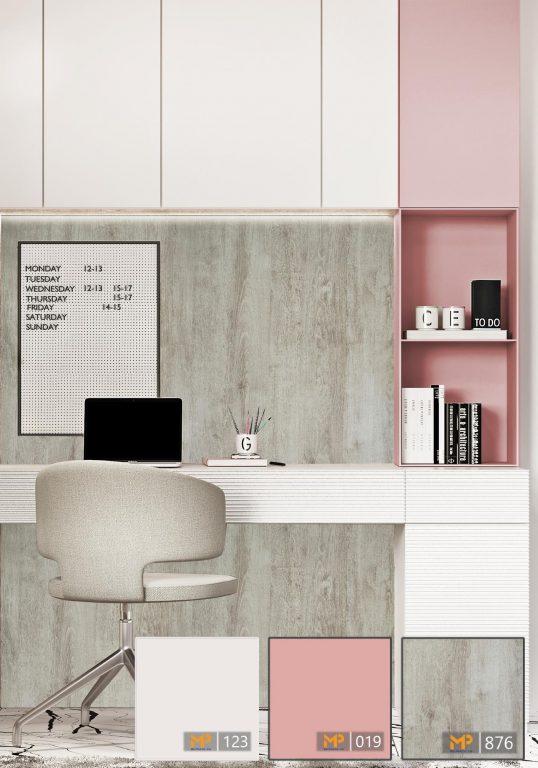 MFC hồng pastel