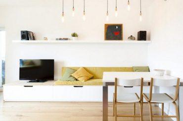 Nội thất tối giản từ gỗ công nghiệp vẫn khiến không gian đẹp hút mắt
