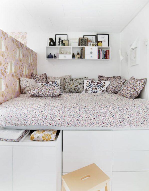 Những mẫu nội thất phòng ngủ tích hợp từ gỗ công nghiệp tuyệt đẹp 3