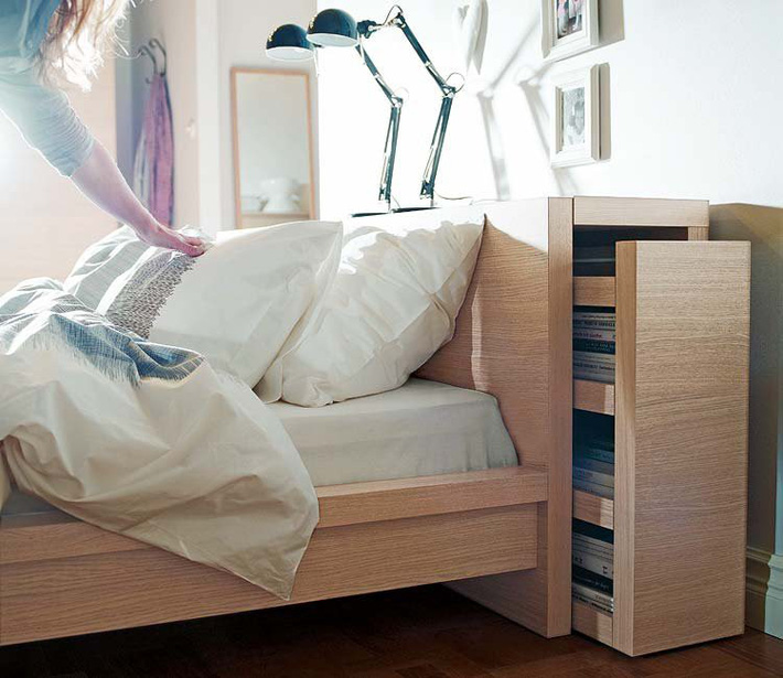 Những mẫu nội thất phòng ngủ tích hợp từ gỗ công nghiệp tuyệt đẹp