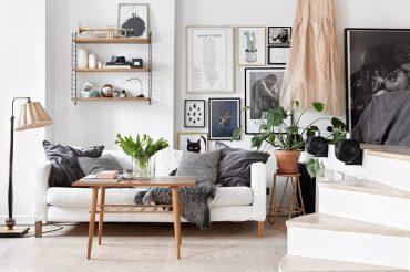 Ngắm căn hộ studio đẹp miễn chê chỉ với MFC trắng và vân gỗ