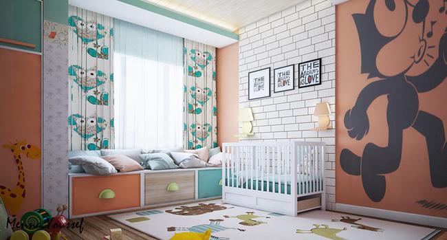Phòng cho bé mùa hè