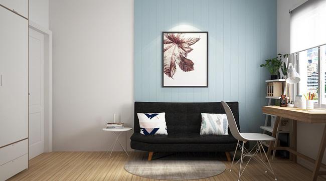 Không gian nội thất xanh ngọc