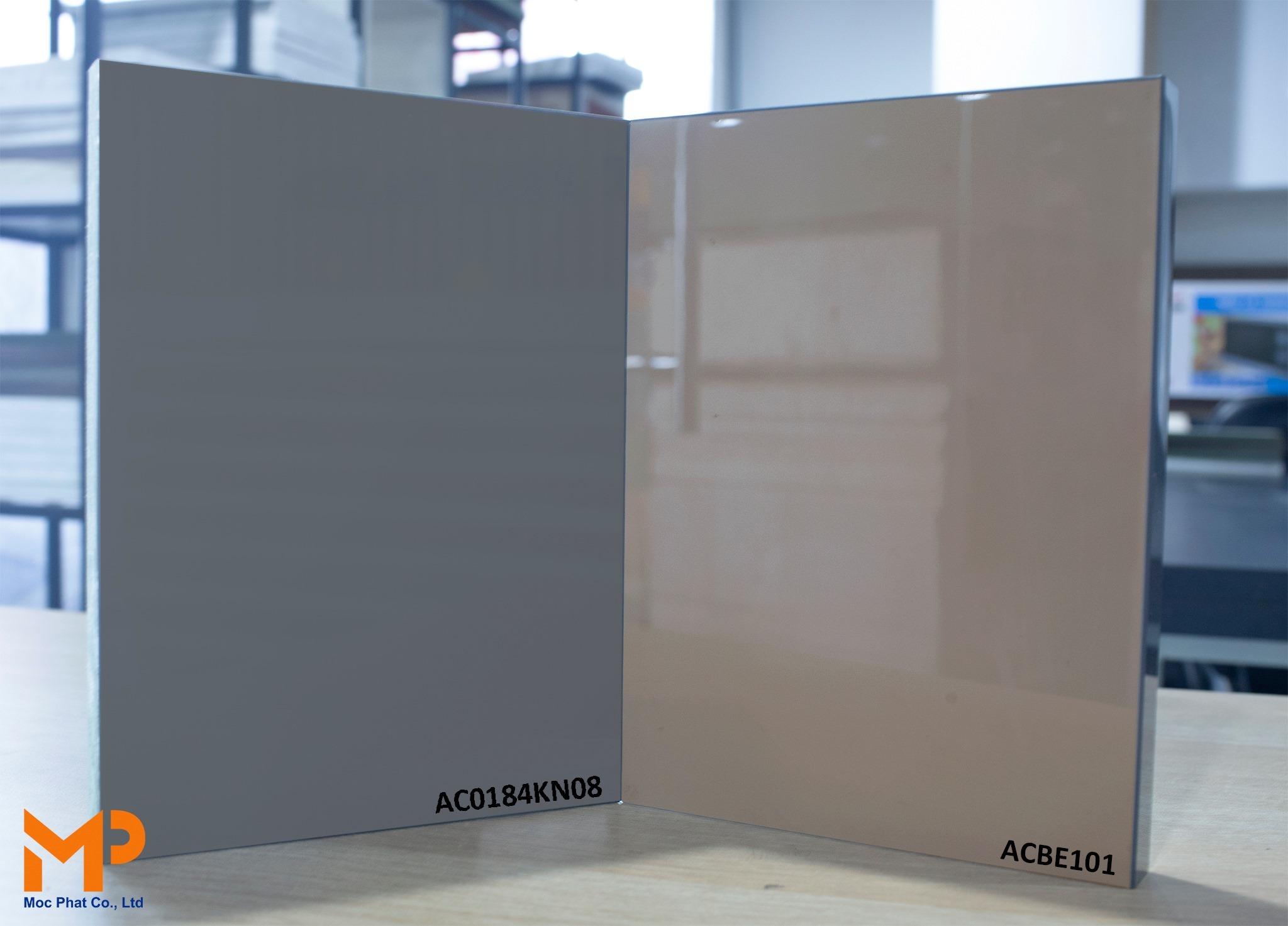 Acrylic đơn sắc: Điểm tô nét sang trọng cho mọi không gian