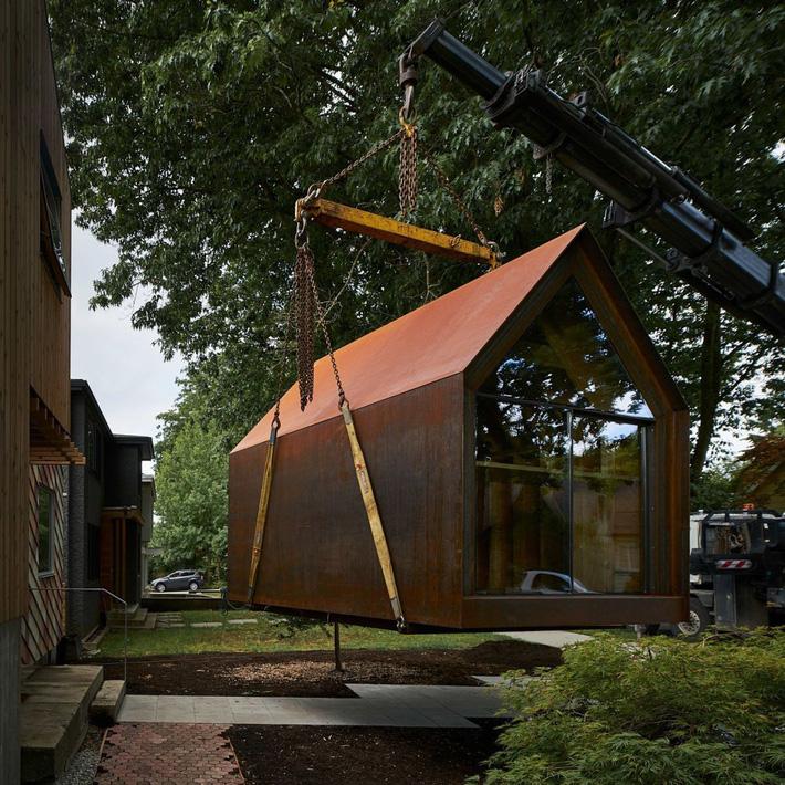 Chiêm ngưỡng ngôi nhà di động nhỏ mà có võ, có thể cùng đi tới bất cứ đâu chỉ cần chủ nhân thích