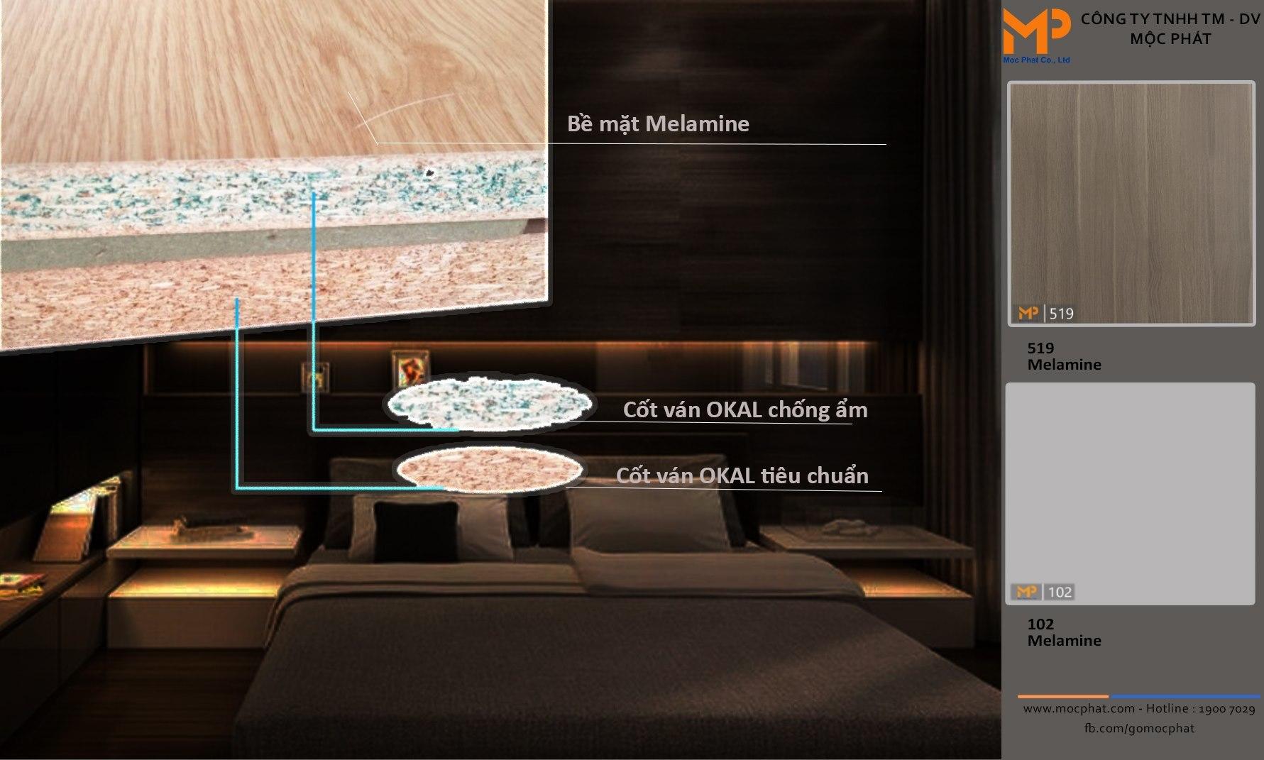 Khi nào nên dùng ván okal chống ẩm và tiêu chuẩn?