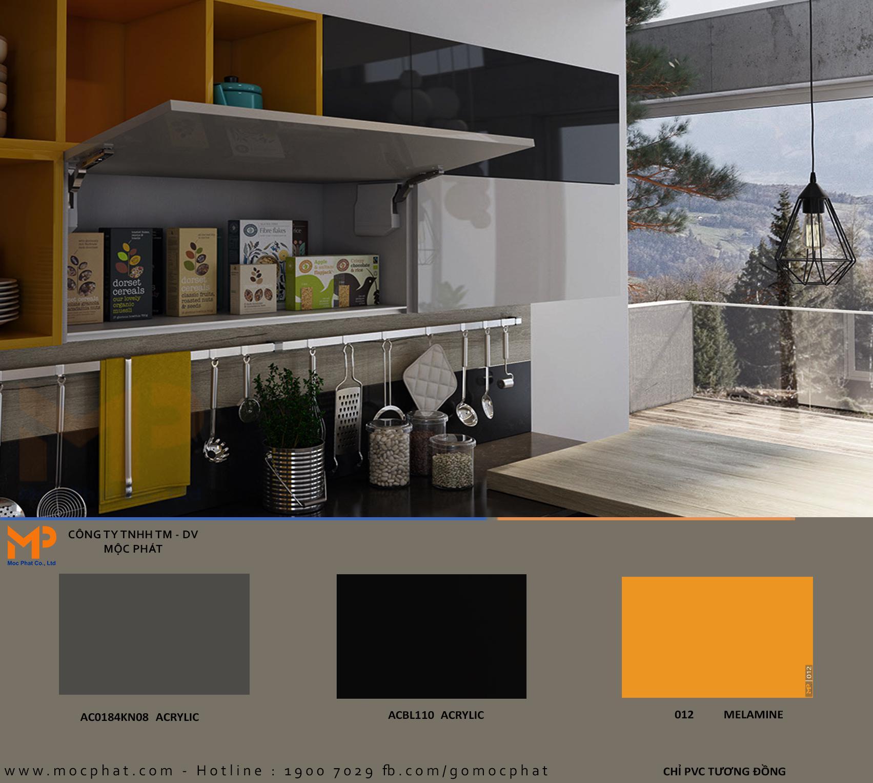 Ván phủ Acyrlic Mộc Phát: Lựa chọn hoàn hảo cho mọi không gian bếp