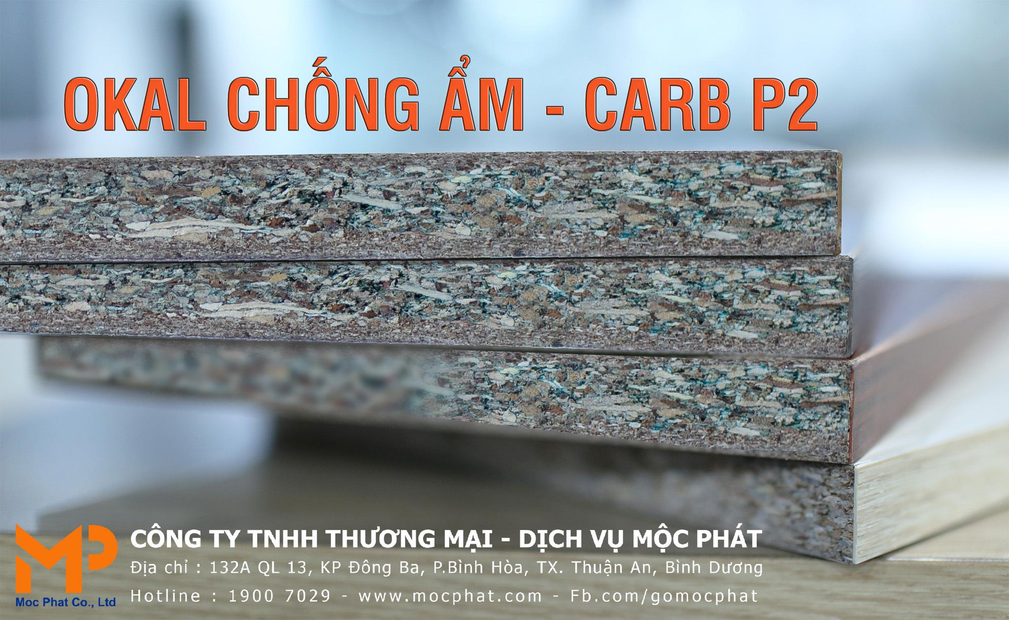 Ván dăm (Okal) chống ẩm Mộc Phát hướng đến tiêu chuẩn CARB P2