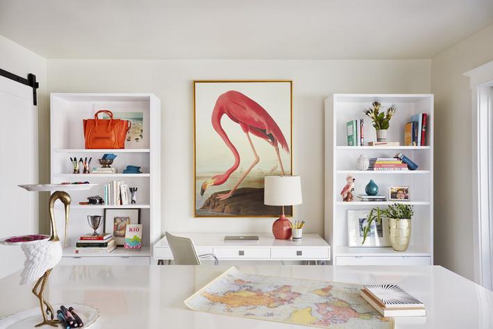 Biến giá sách thành điểm nhấn ấn tượng trong nhà