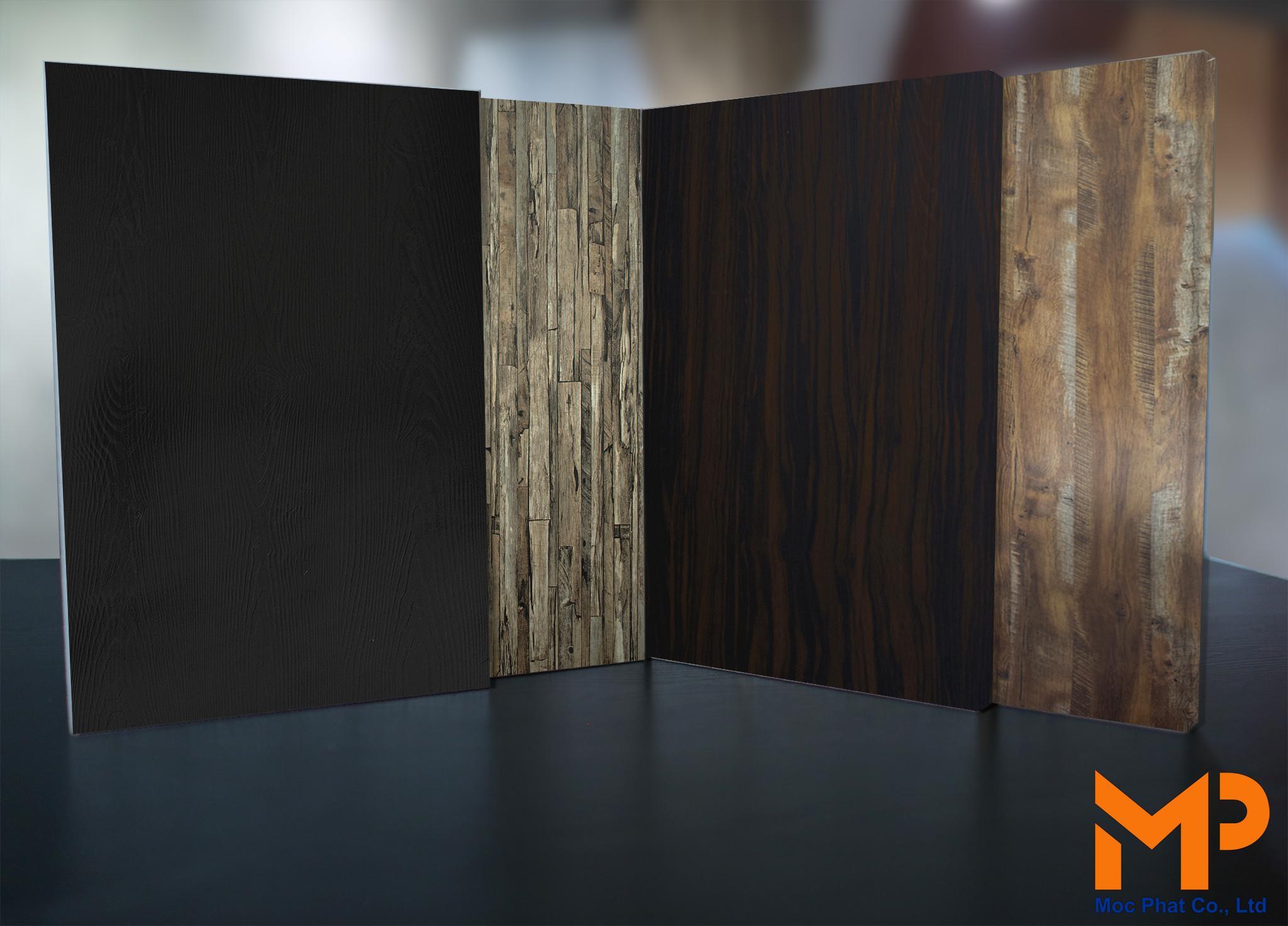 Sức hút của những mẫu vân gỗ độc đáo