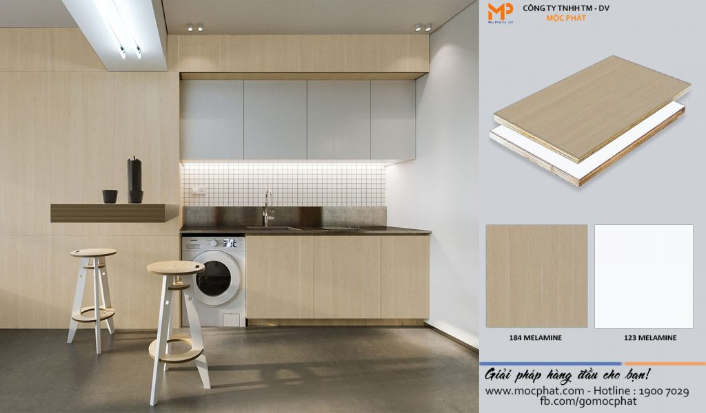 Plywood Melamine 184