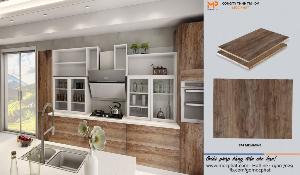 Plywood Melamine 744