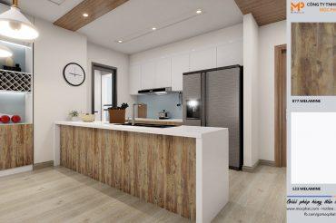 Xu hướng sử dụng nội thất gỗ công nghiệp trong thiết kế nhà hiện nay