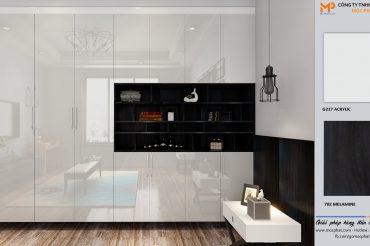 Kiến tạo không gian sang trọng với màu Acrylic