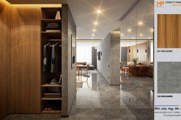 Ứng dụng sản xuất tủ quần áo MDF đẹp mà rẻ