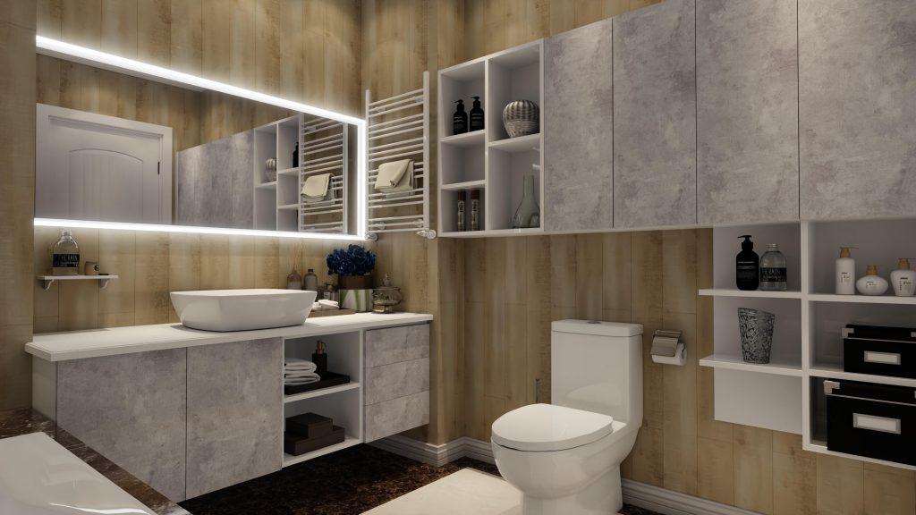 ứng dụng plywood phủ melamine