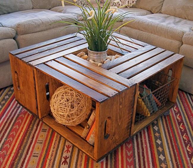 9 ý tưởng sáng tạo gỗ pallet thành các đồ nội thất độc đáo 5