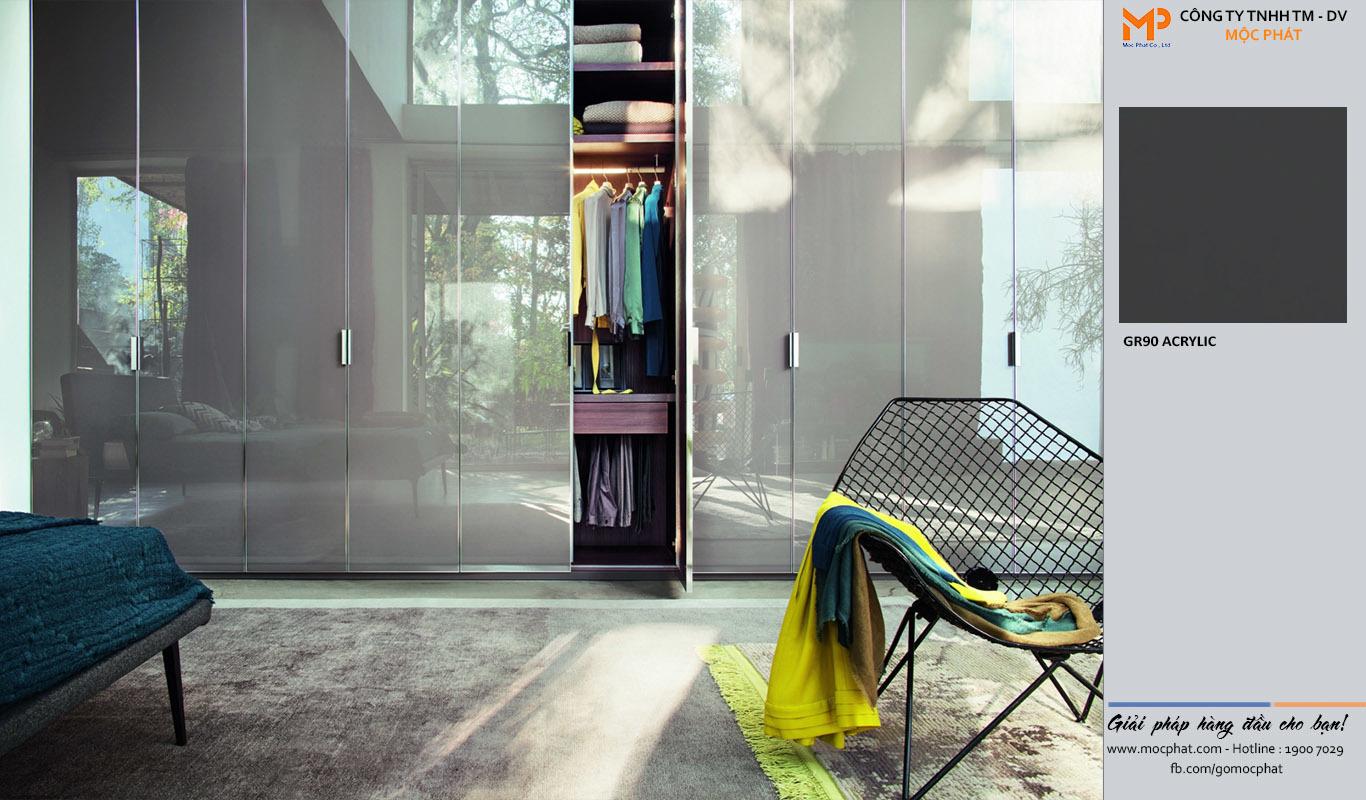 Lý do chọn tủ quần áo acrylic từ ván gỗ Mộc Phát cho căn phòng của bạn 1