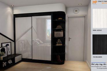 Lý do chọn tủ quần áo acrylic từ ván gỗ Mộc Phát cho căn phòng của bạn