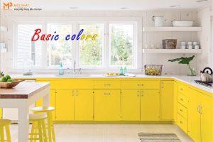 Phong cách sử dụng màu cơ bản trong nội thất